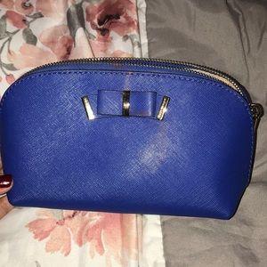 Michael Kors Blue Cosmetic Bag